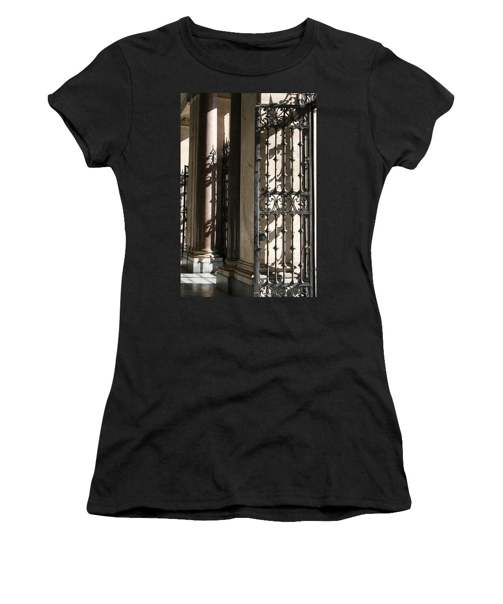 Italy Women's T-Shirt featuring the photograph City 0046 by Carol Ann Thomas