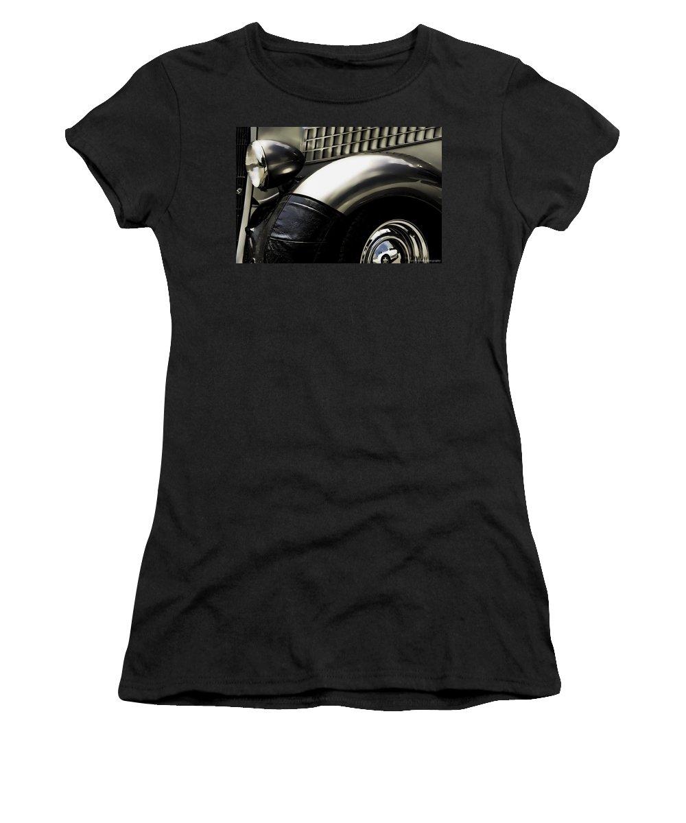Car Women's T-Shirt featuring the photograph Classic by Sheri Bartoszek