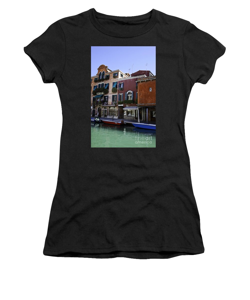 Venice Women's T-Shirt featuring the photograph Colors Of Venice by Madeline Ellis