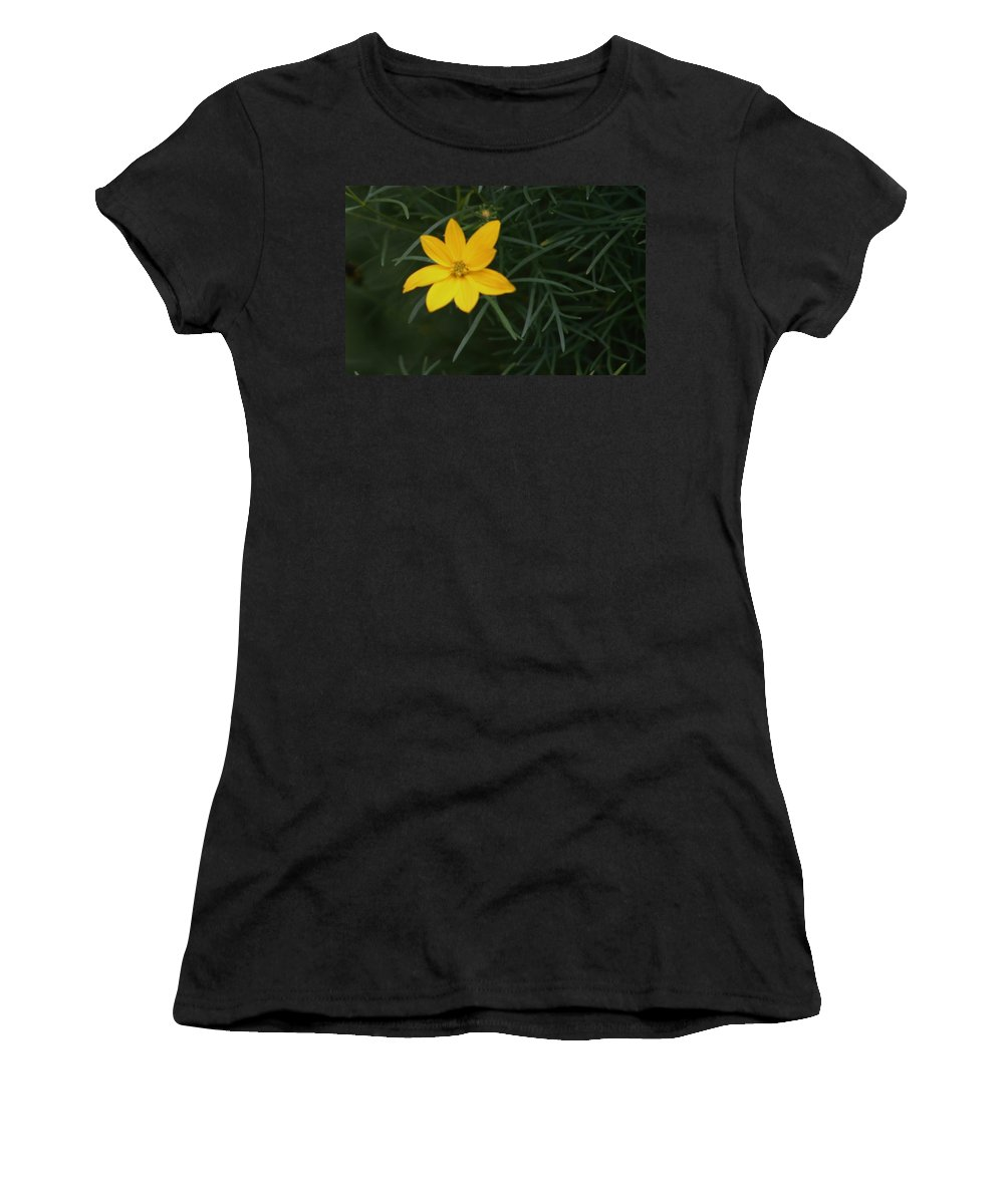 Photo Women's T-Shirt (Athletic Fit) featuring the photograph Daisy Wannabee by Barbara S Nickerson