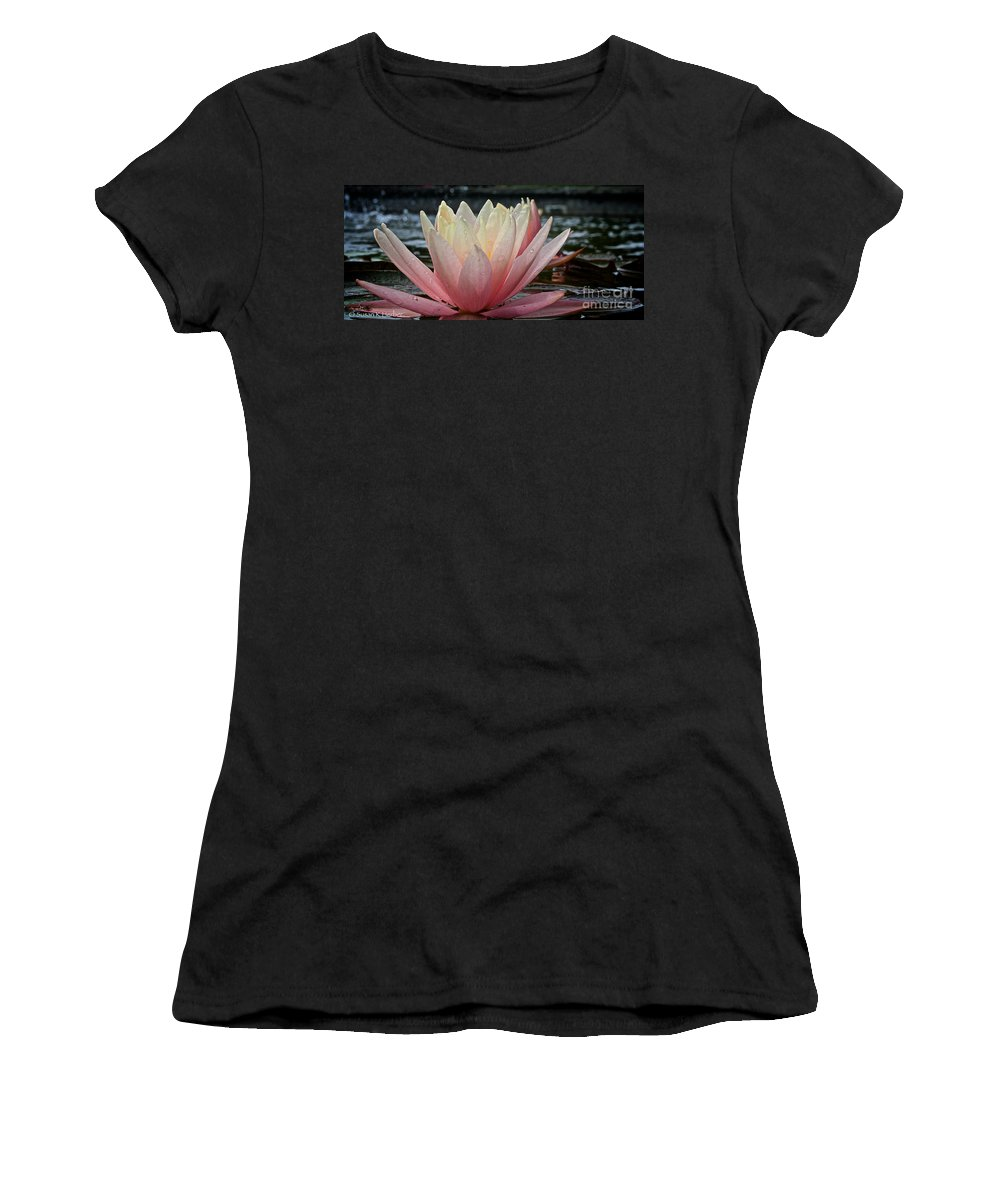 Outdoors Women's T-Shirt (Athletic Fit) featuring the photograph Floral Wonders by Susan Herber