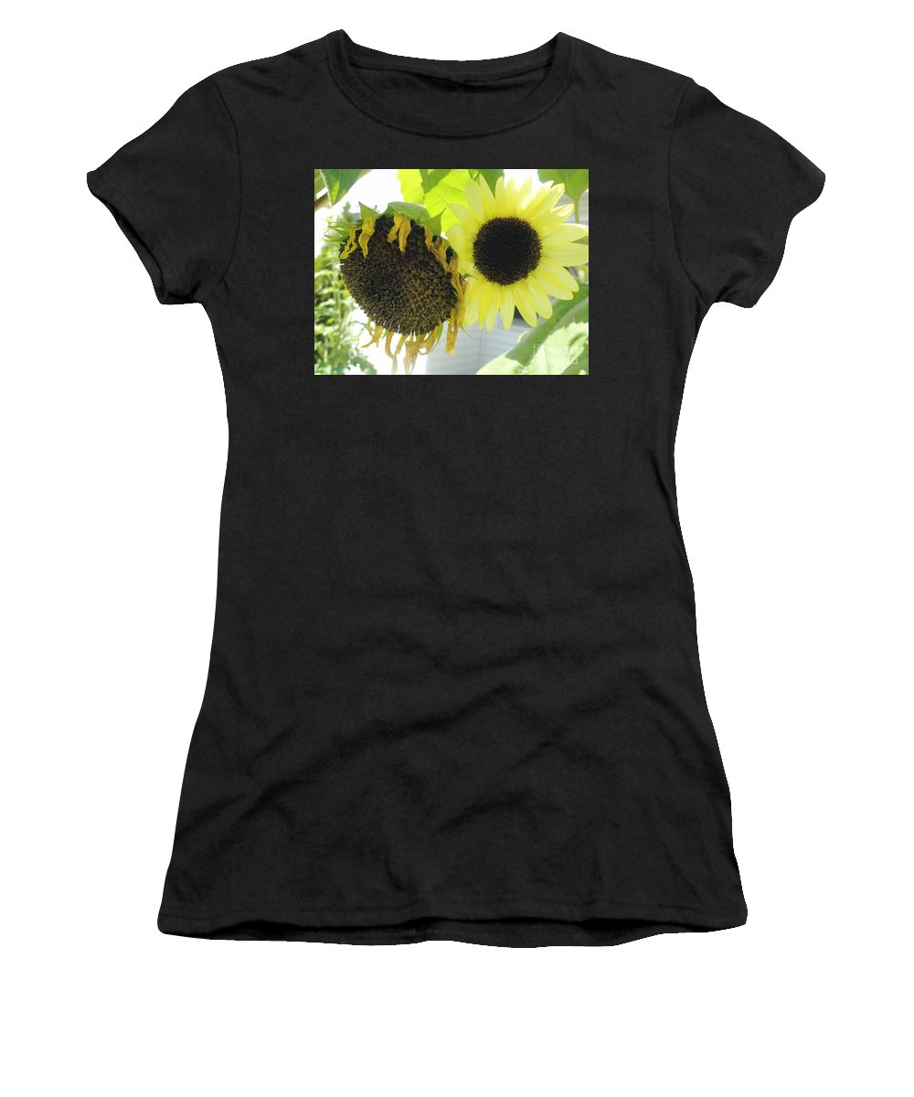 Yellow Women's T-Shirt (Athletic Fit) featuring the photograph Fortune Teller by Trish Hale