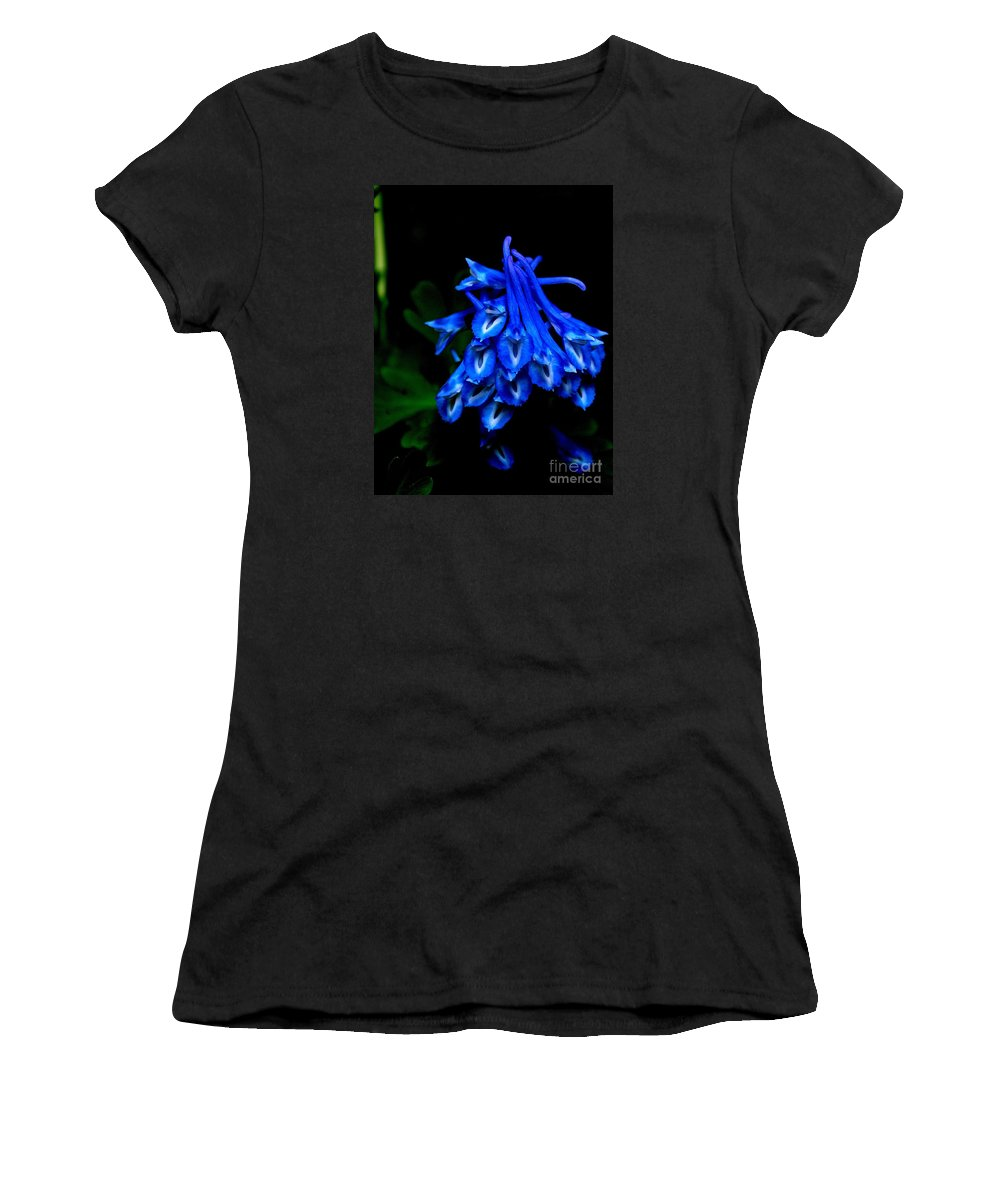 Corydalis Women's T-Shirt featuring the photograph Garden Jewel by Tanya Searcy
