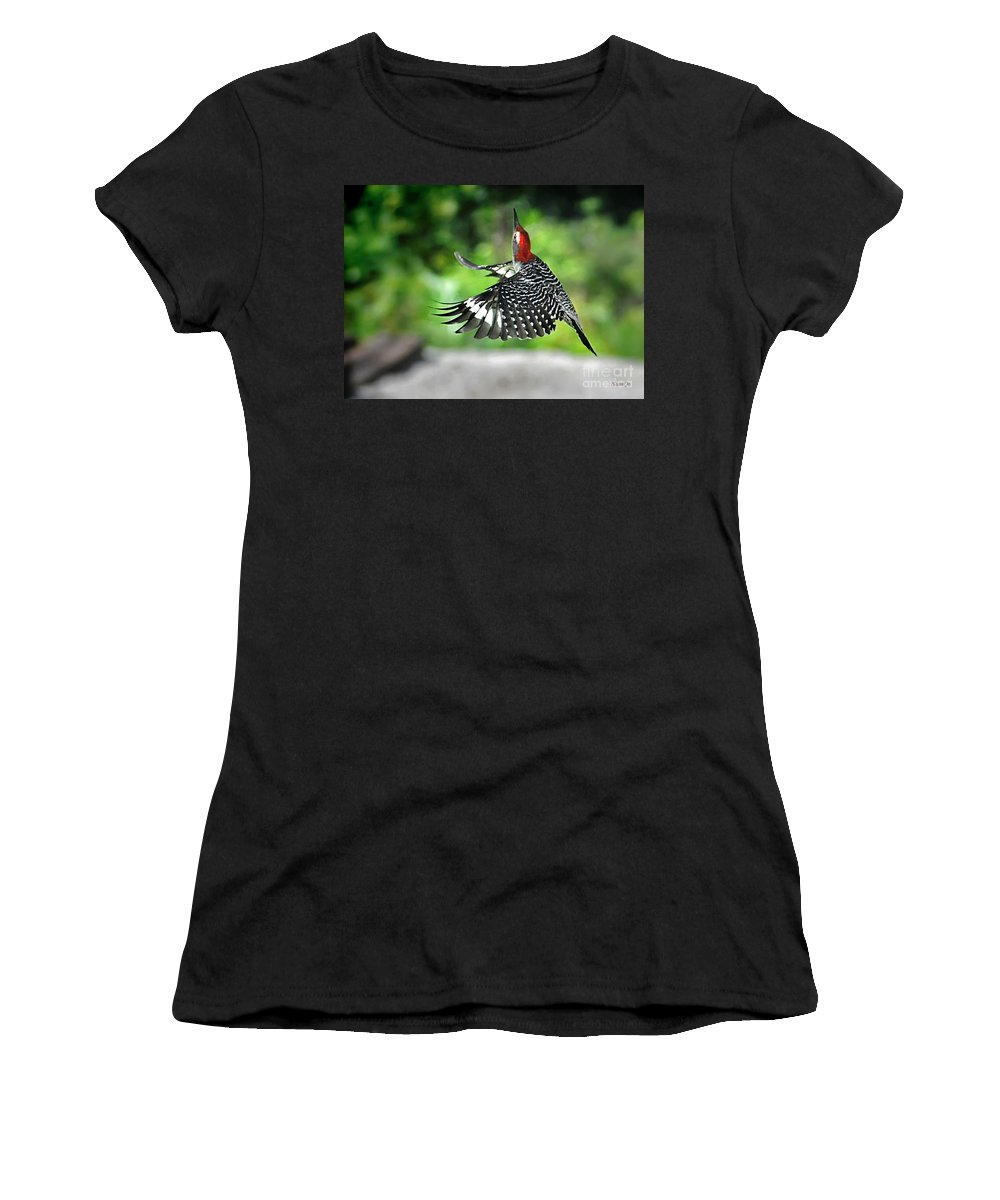 Nqture Women's T-Shirt (Athletic Fit) featuring the photograph Going Home by Nava Thompson