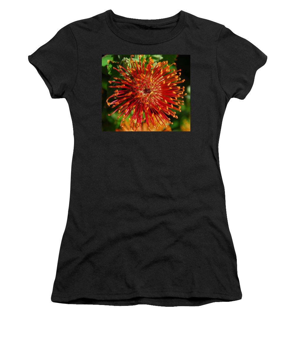 Gum Women's T-Shirt featuring the photograph Gum Flower by Georgiana Romanovna