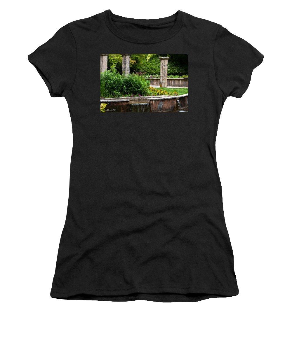 Landscape Women's T-Shirt featuring the photograph Hidden Garden by Stephanie Salter