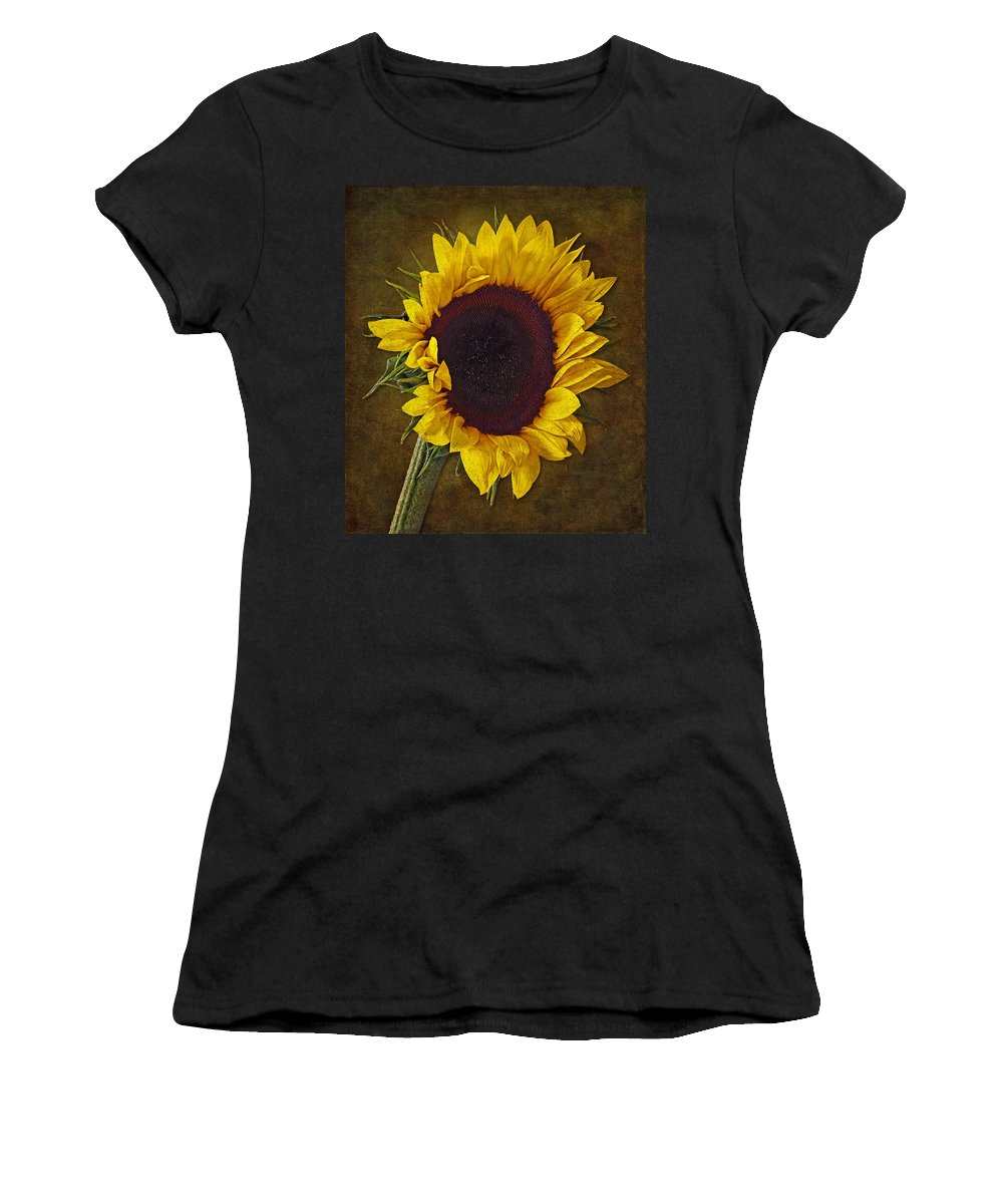 Sun Women's T-Shirt (Athletic Fit) featuring the photograph I Dance With The Sun by Susan Candelario