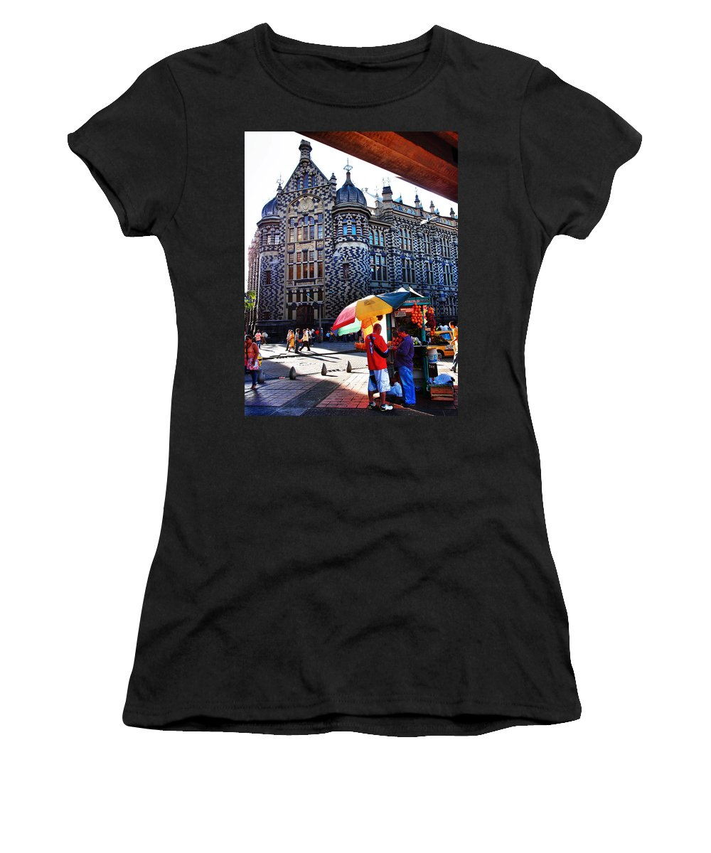 Iglesia Dulce Women's T-Shirt (Athletic Fit) featuring the photograph Inglesia Dulce by Skip Hunt