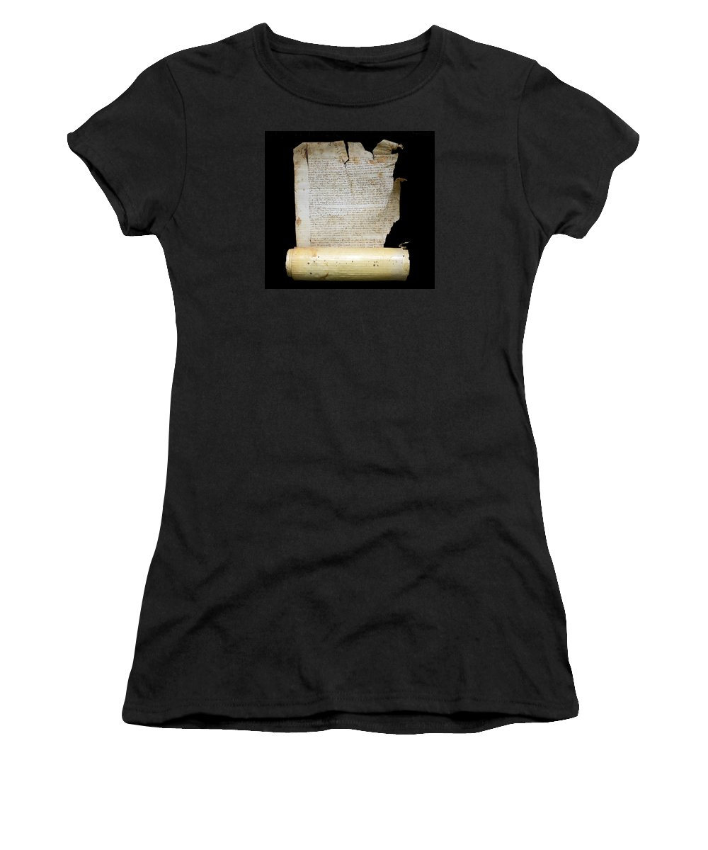 Lawsuit Women's T-Shirt featuring the photograph Lawsuit Of The Cathedral Chapter Of Calahorra. Pleito Del Cabildo Catedralicio De Calahorra by RicardMN Photography