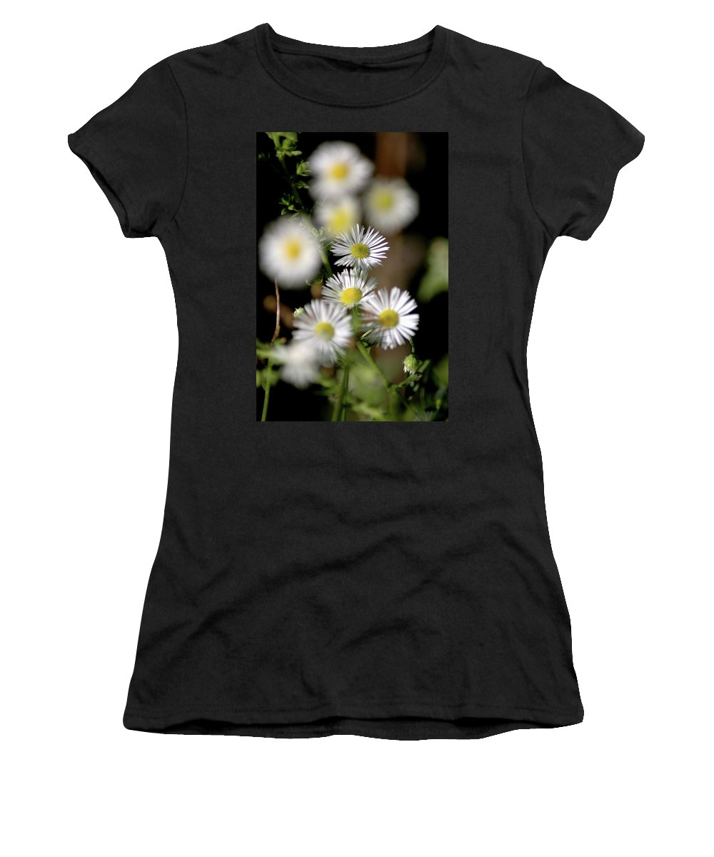 Usa Women's T-Shirt (Athletic Fit) featuring the photograph Lazy Daisy by LeeAnn McLaneGoetz McLaneGoetzStudioLLCcom