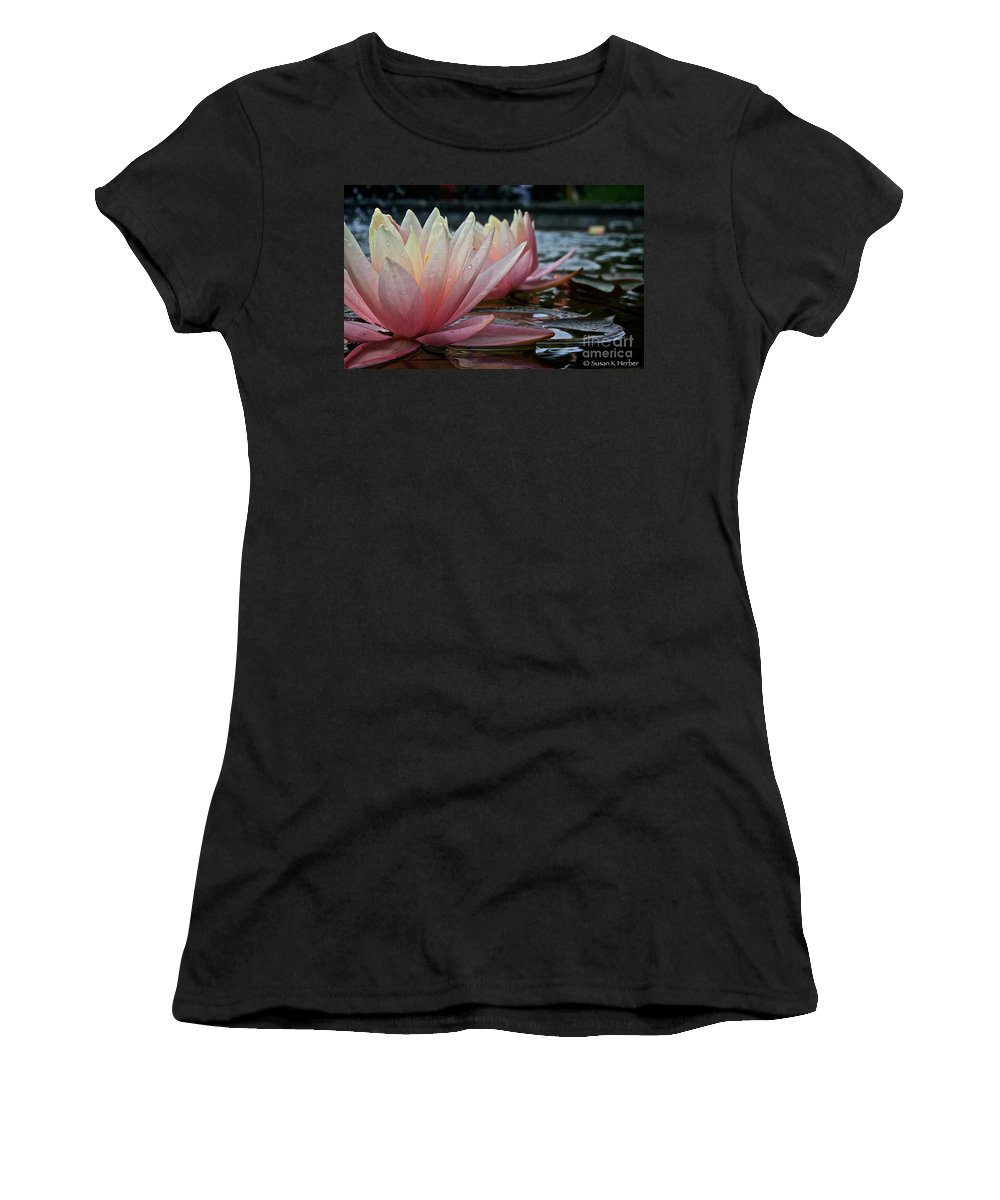Outdoors Women's T-Shirt (Athletic Fit) featuring the photograph Lily Sisters by Susan Herber