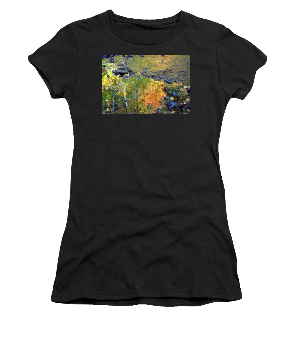 Monet Women's T-Shirt (Athletic Fit) featuring the photograph Monetesque by Valentino Visentini