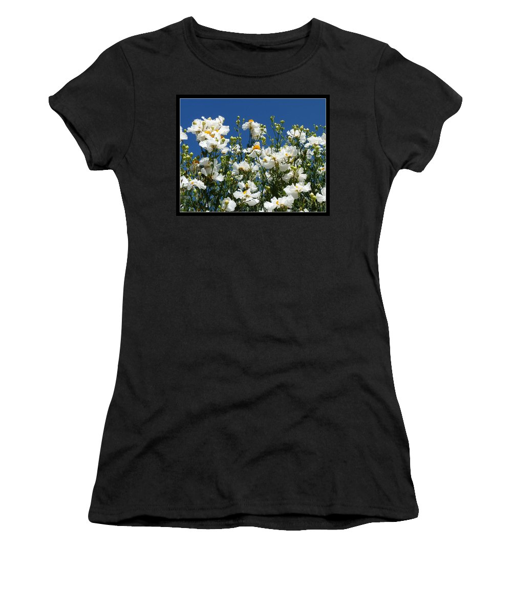 Monterey Bay Women's T-Shirt (Athletic Fit) featuring the photograph Monterey Beauty by Carla Parris