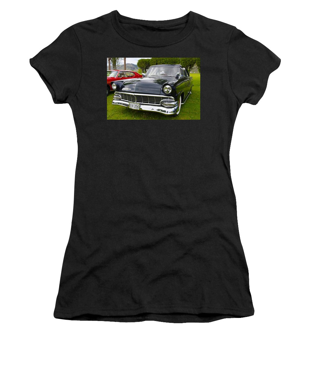 Car Women's T-Shirt featuring the photograph Roll Those Dice by John Greaves