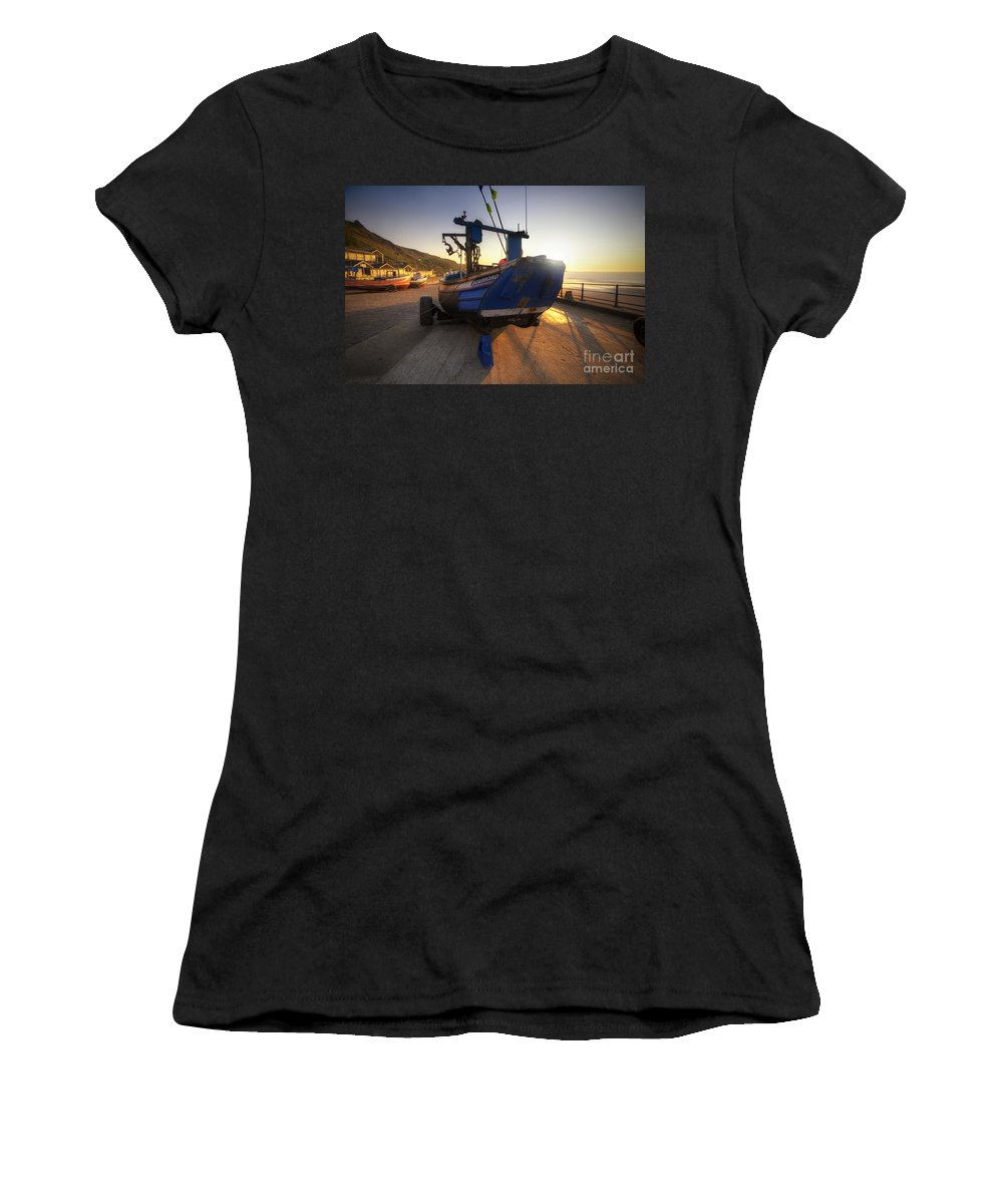 Yhun Suarez Women's T-Shirt (Athletic Fit) featuring the photograph Scarboro by Yhun Suarez
