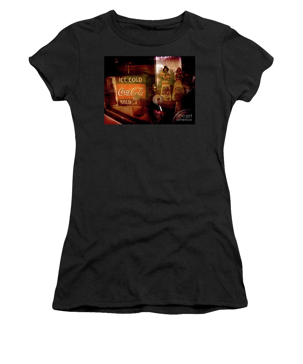 Retro Women's T-Shirt (Athletic Fit) featuring the photograph Sold Out by Susanne Van Hulst