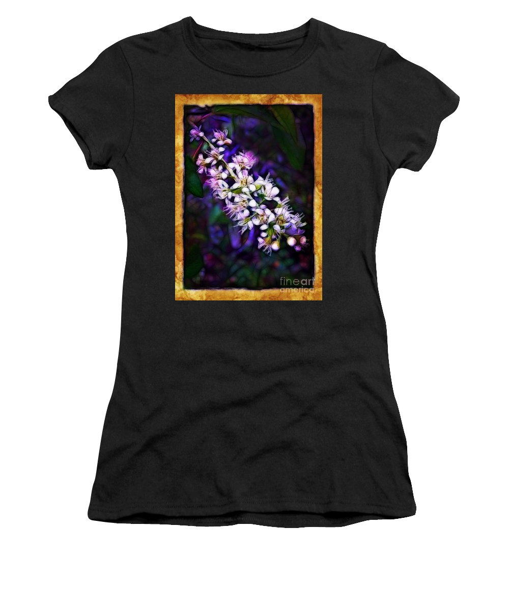 Spray Women's T-Shirt (Athletic Fit) featuring the photograph Spray Of Light by Judi Bagwell