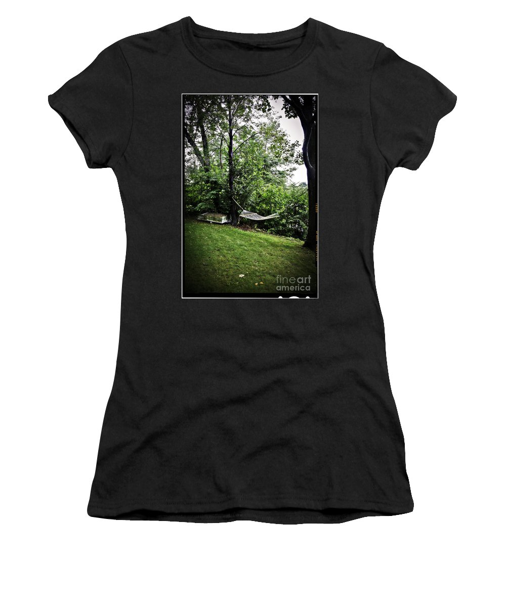 Swing Women's T-Shirt (Athletic Fit) featuring the photograph Swing Time by Madeline Ellis