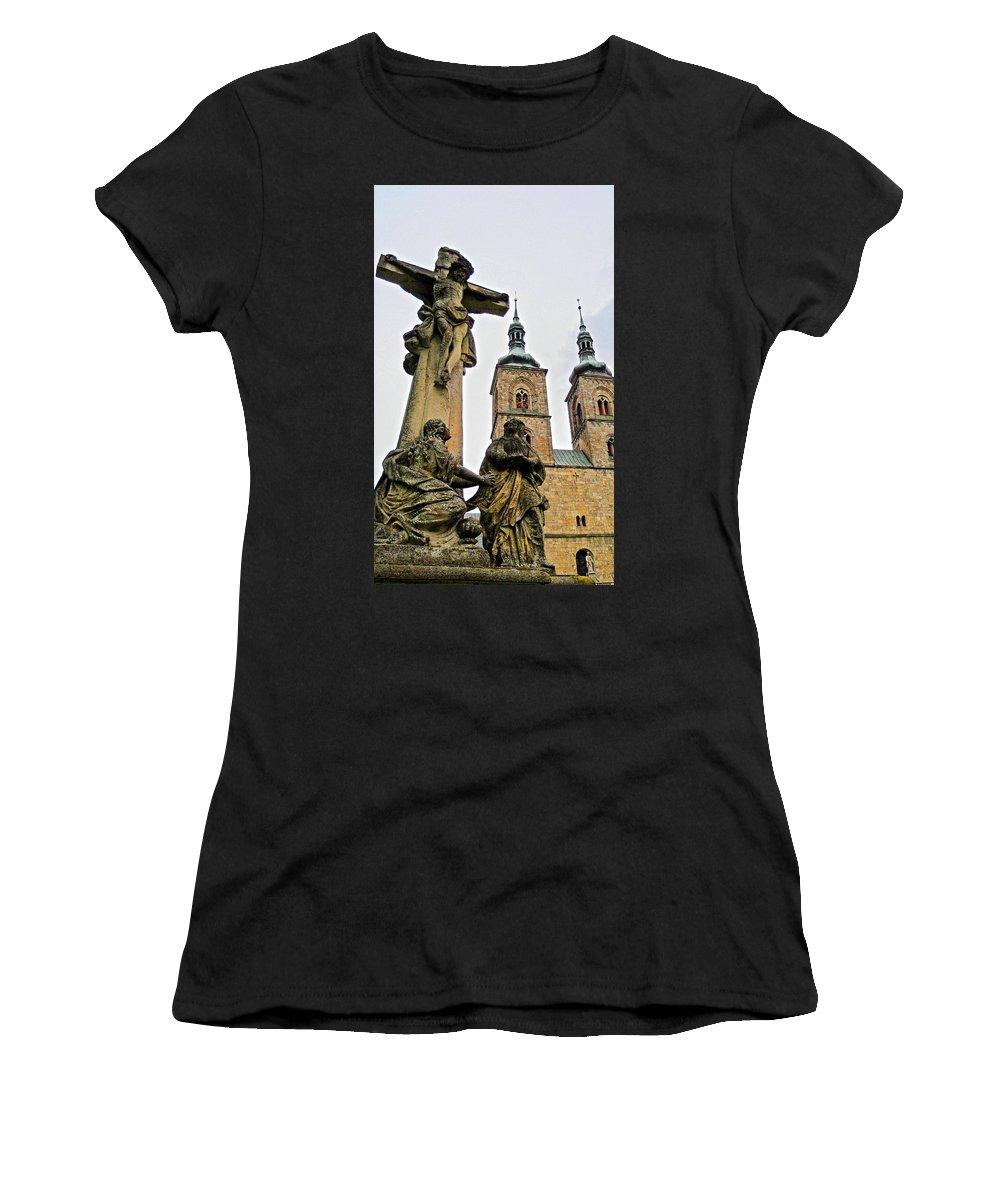 Europe Women's T-Shirt featuring the photograph Tepla Monastery - Czech Republic by Juergen Weiss