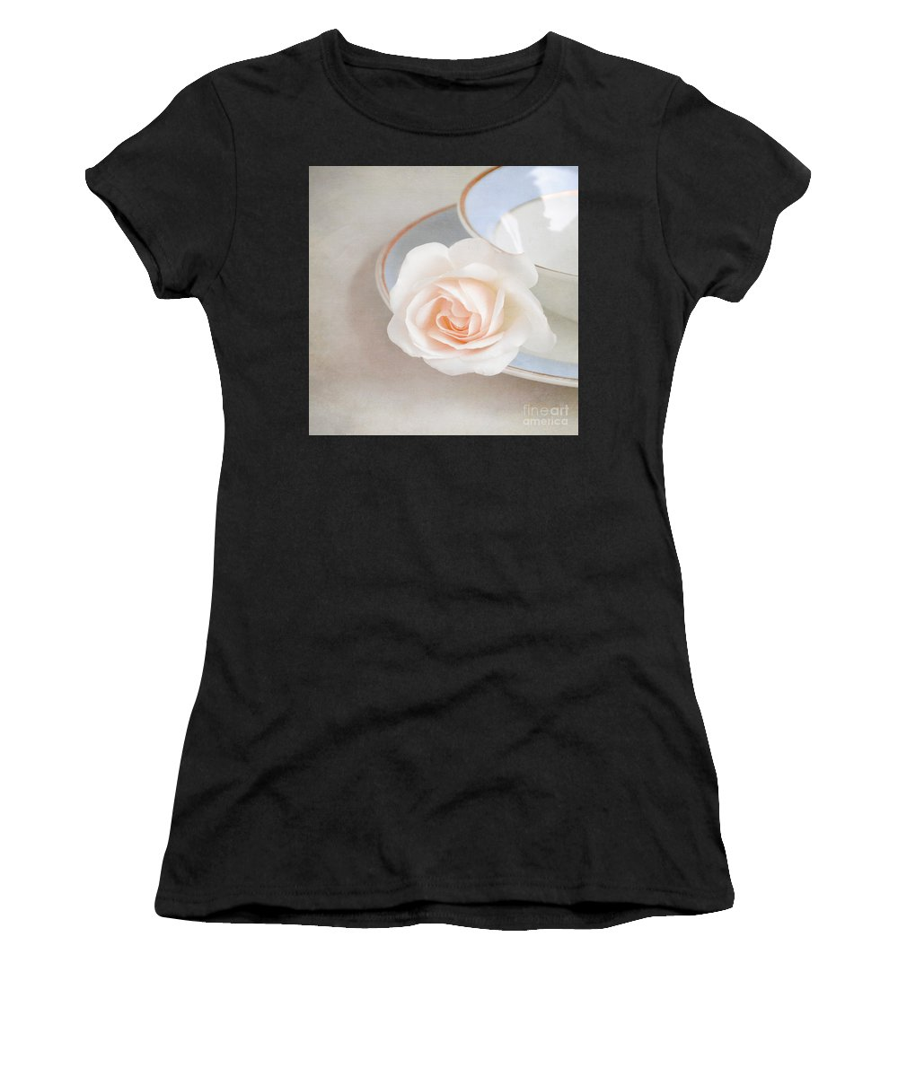 Rose Women's T-Shirt featuring the photograph The Sweetest Rose by Lyn Randle
