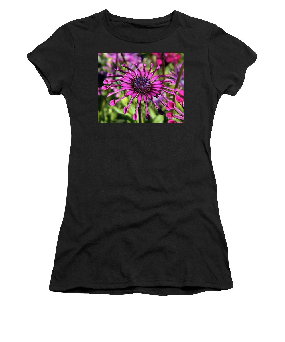Women's T-Shirt (Athletic Fit) featuring the photograph Tubes by Diane Greco-Lesser