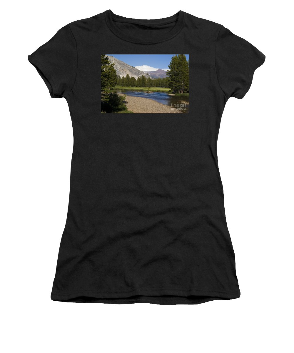 Forest Women's T-Shirt featuring the photograph Tuolumne Meadow by Jim And Emily Bush