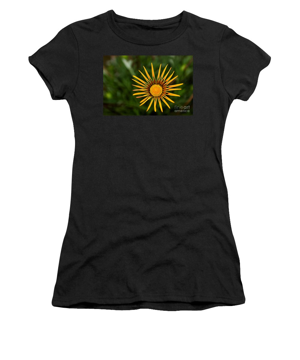 Flower Women's T-Shirt (Athletic Fit) featuring the photograph Twinkle Twinkle by Syed Aqueel