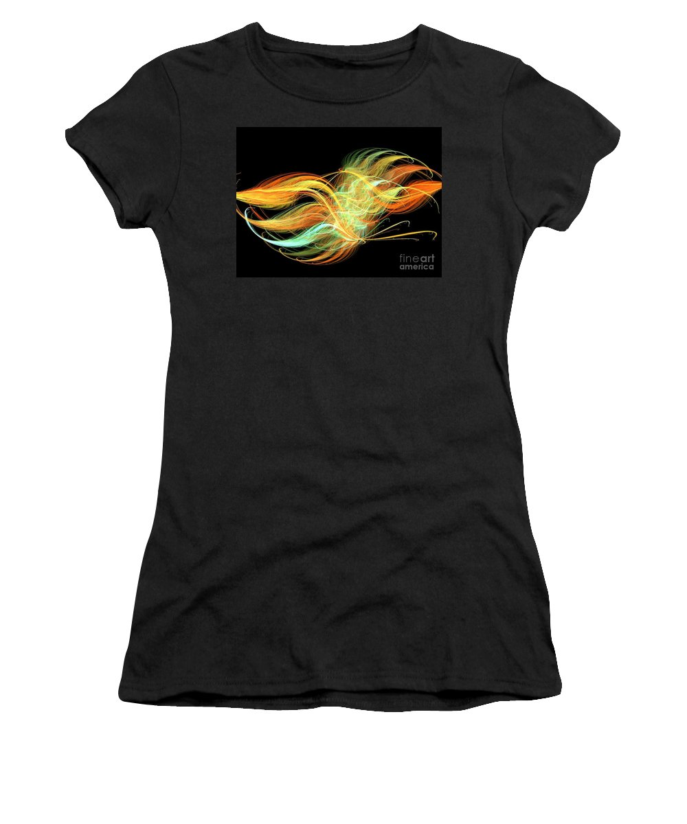 Apophysis Women's T-Shirt (Athletic Fit) featuring the digital art Unity by Kim Sy Ok