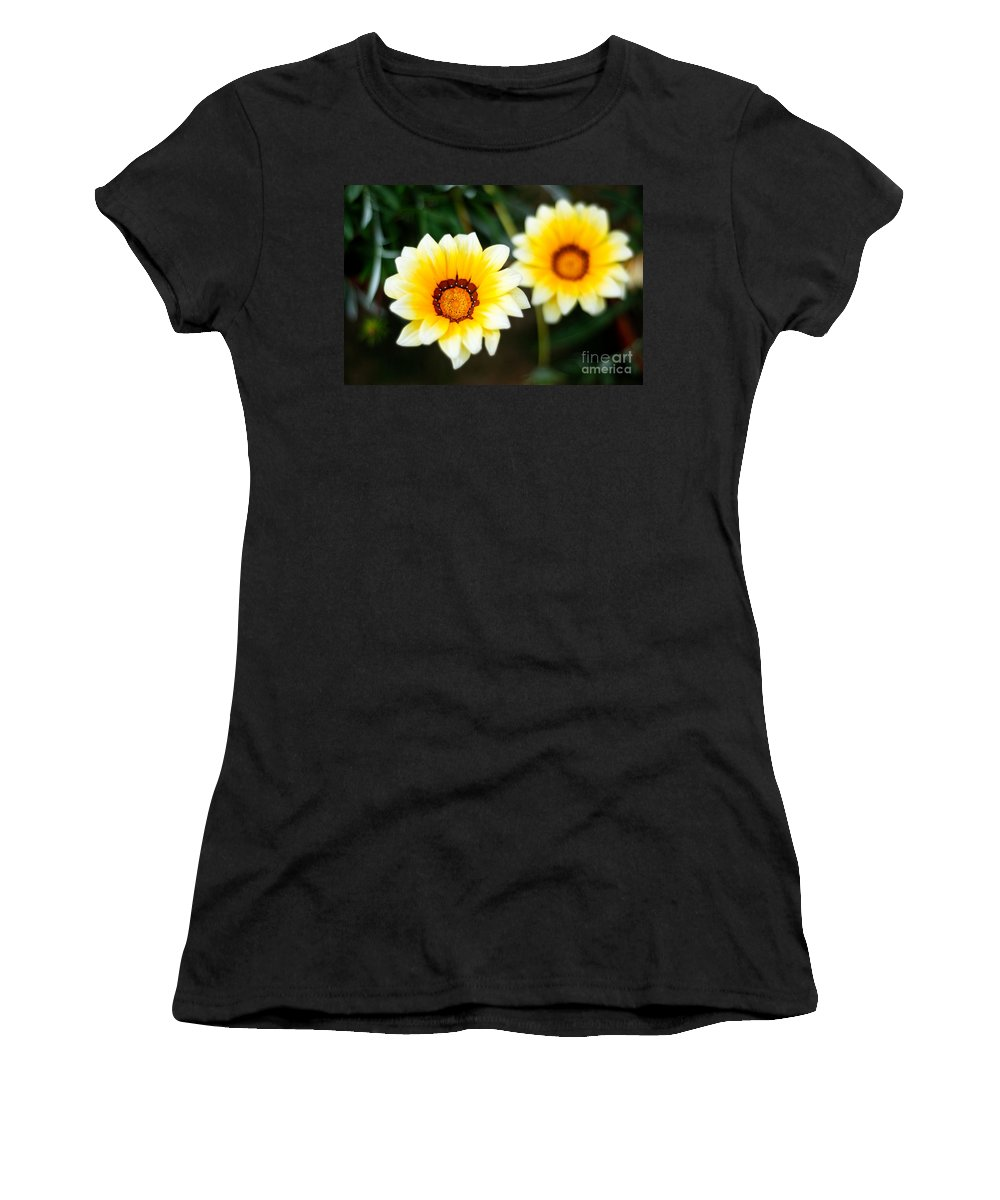 Flower Women's T-Shirt (Athletic Fit) featuring the photograph Vanilla Story by Syed Aqueel