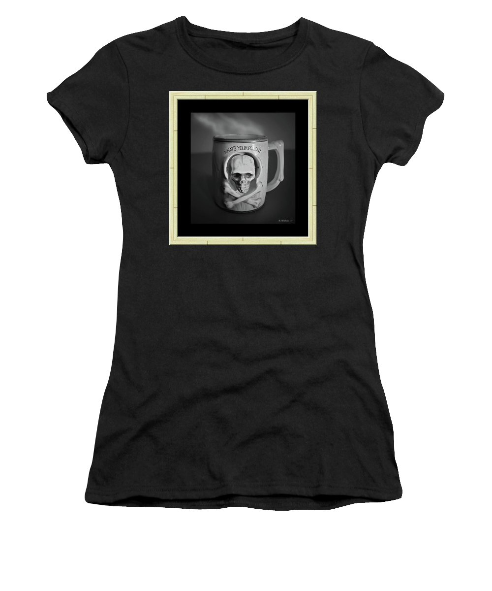 2d Women's T-Shirt (Athletic Fit) featuring the photograph What A Mug by Brian Wallace