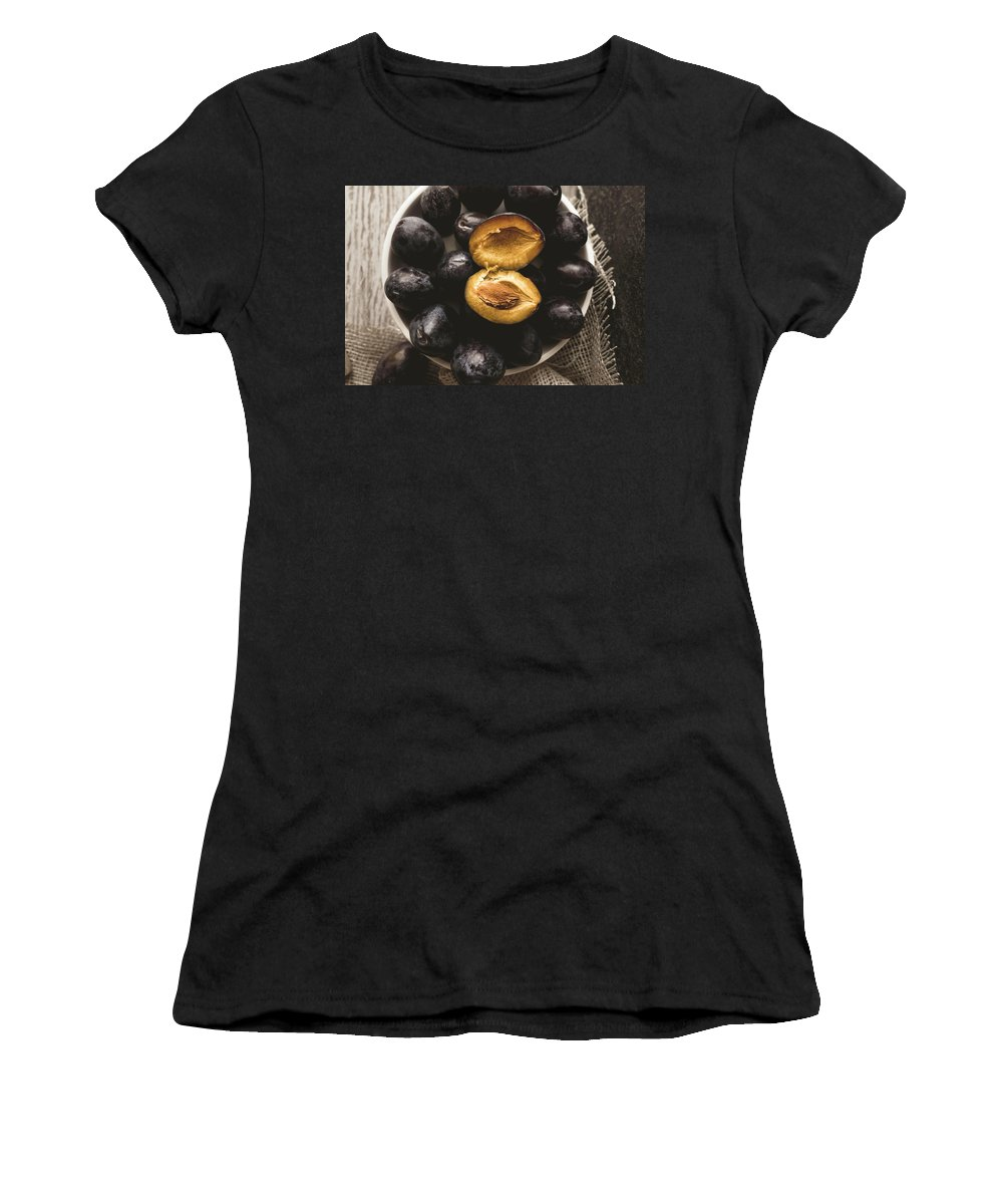 Still-life Food Women's T-Shirt featuring the photograph ... Susine ... by Enrico Sottocorna
