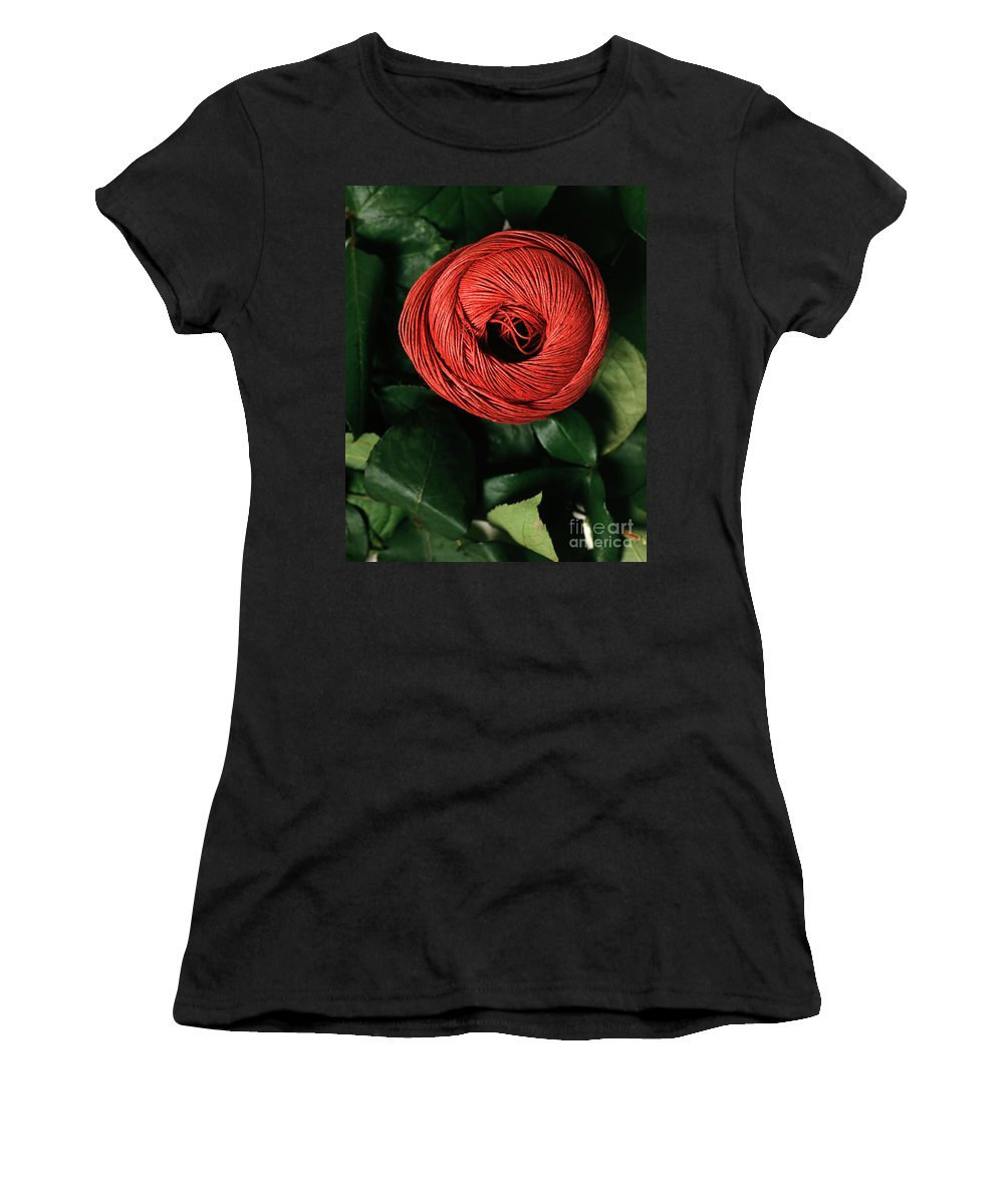 Arty Women's T-Shirt (Athletic Fit) featuring the photograph Blossom by Stefania Levi