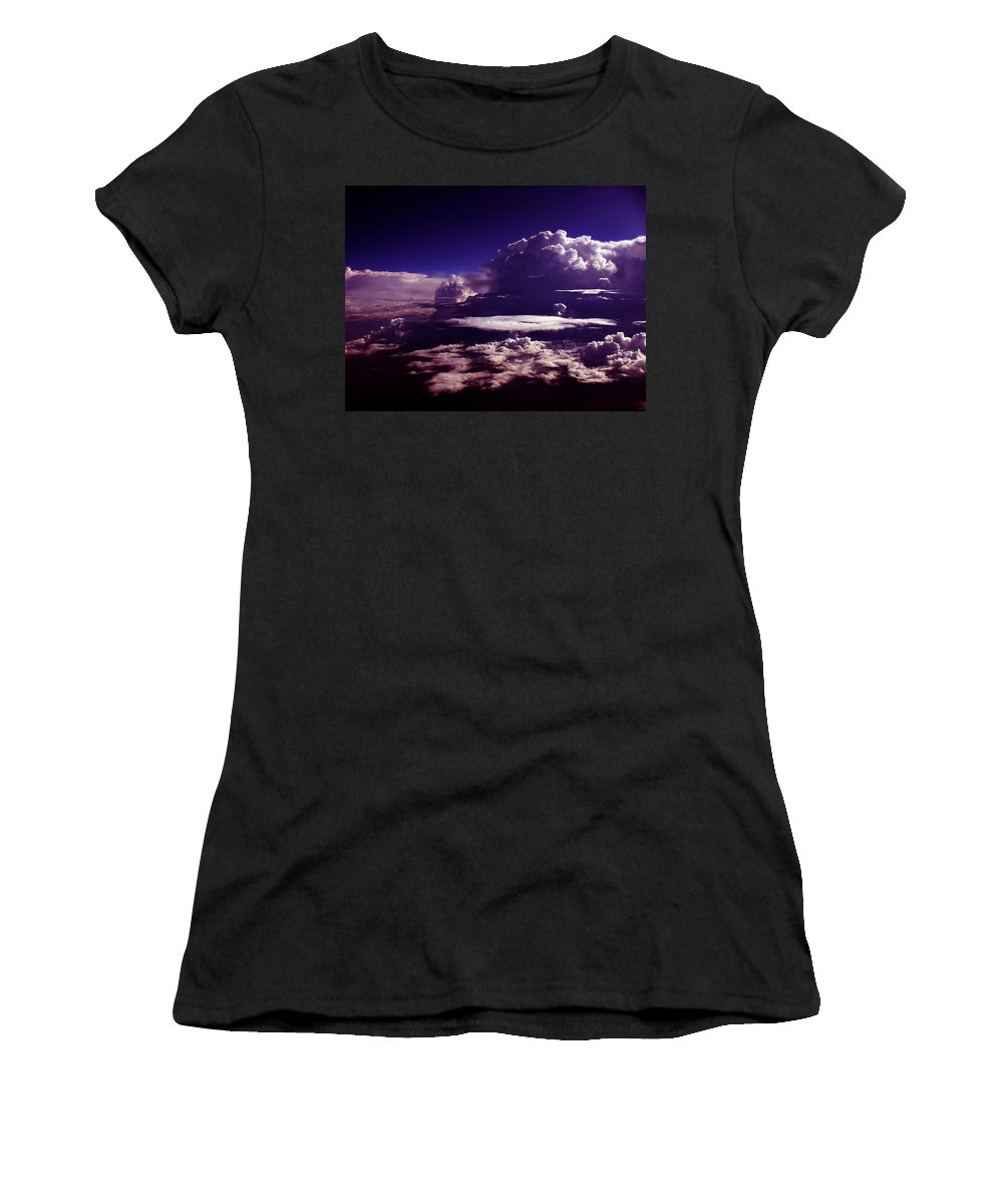 Aviation Art Women's T-Shirt (Athletic Fit) featuring the photograph Cb3.95 by Strato ThreeSIXTYFive