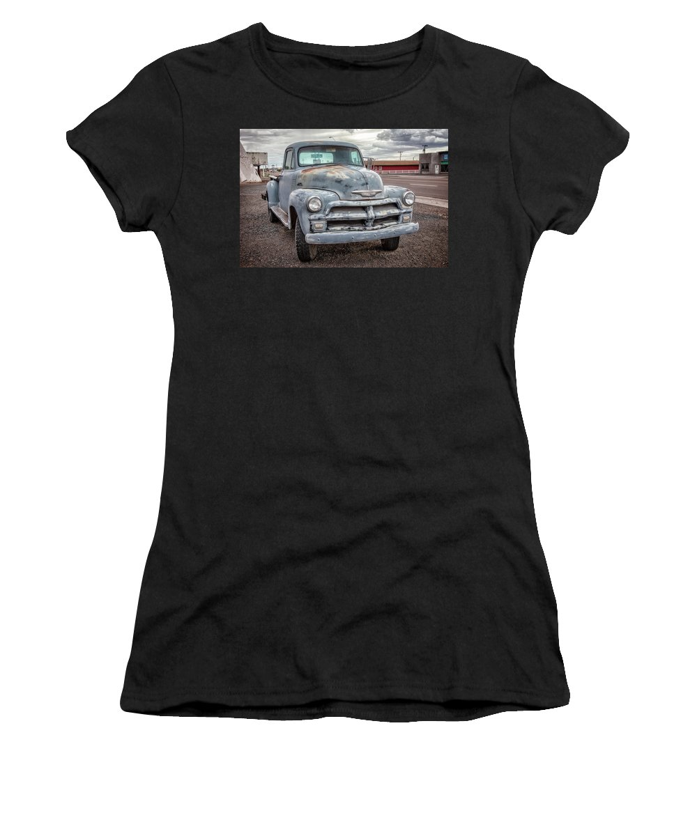66 Women's T-Shirt featuring the photograph Chevy Truck by Diana Powell