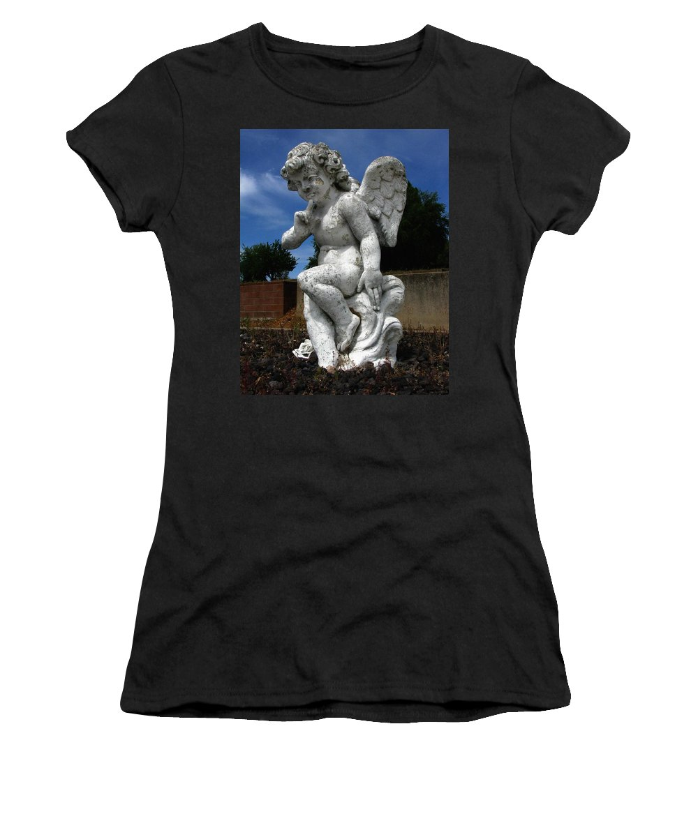 Contemplation Women's T-Shirt (Athletic Fit) featuring the photograph Contemplation by Peter Piatt