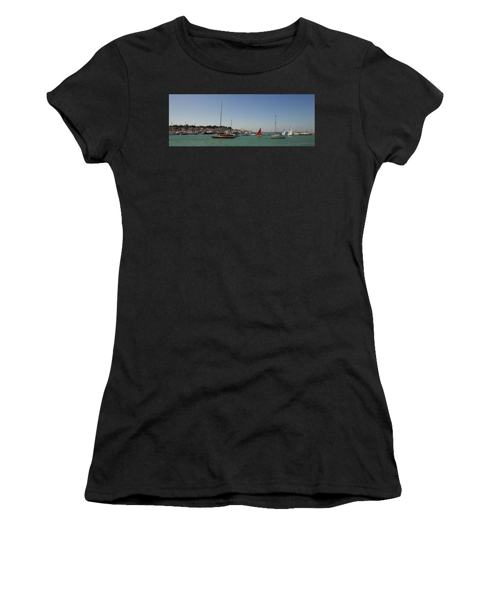 Cowes Women's T-Shirt featuring the photograph Cowes by Robert Phelan
