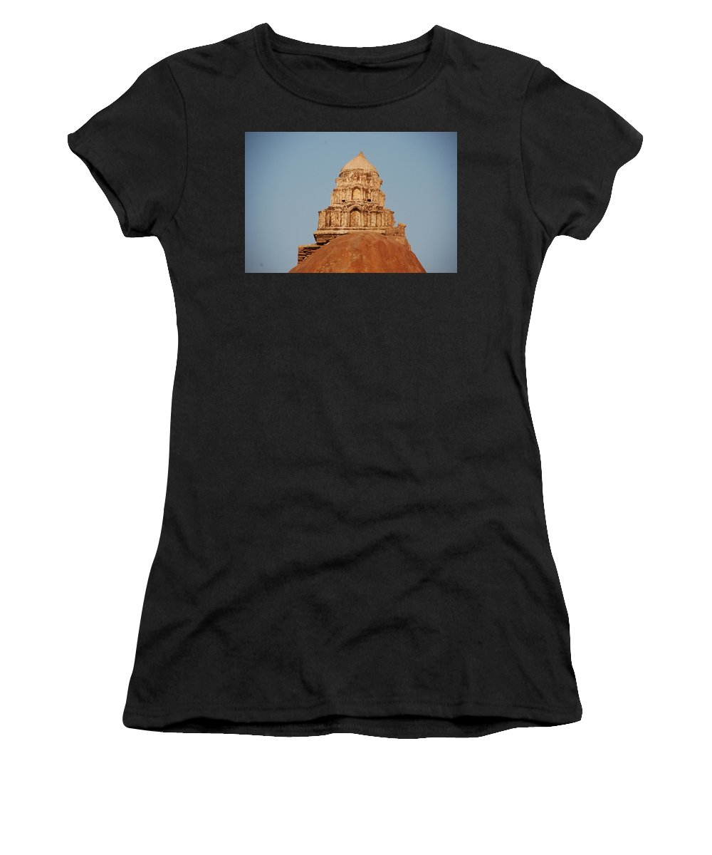 Women's T-Shirt featuring the photograph Ding by Sharine Rijsenburg