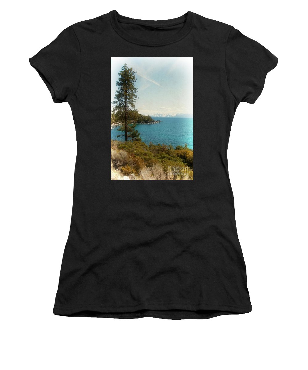 Lake Tahoe Women's T-Shirt (Athletic Fit) featuring the photograph Lake Tahoe by Jim And Emily Bush