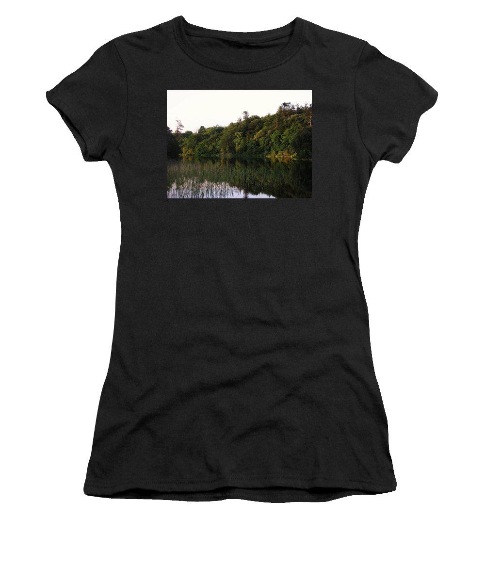 Landscape Women's T-Shirt featuring the photograph Lough Gill Co Sligo Ireland by Louise Macarthur Art and Photography