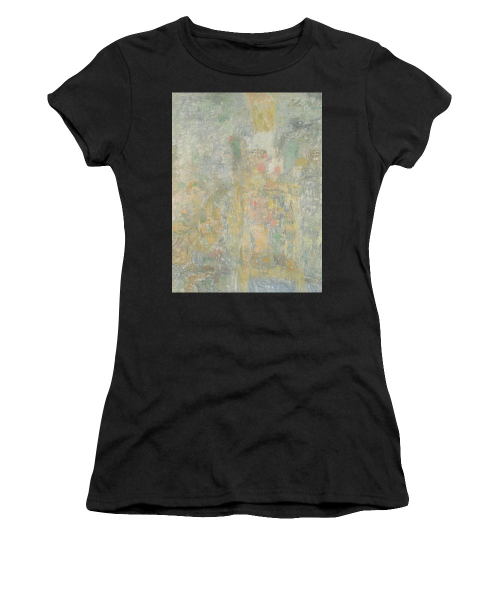Bouquet Women's T-Shirt featuring the painting Man by Robert Nizamov