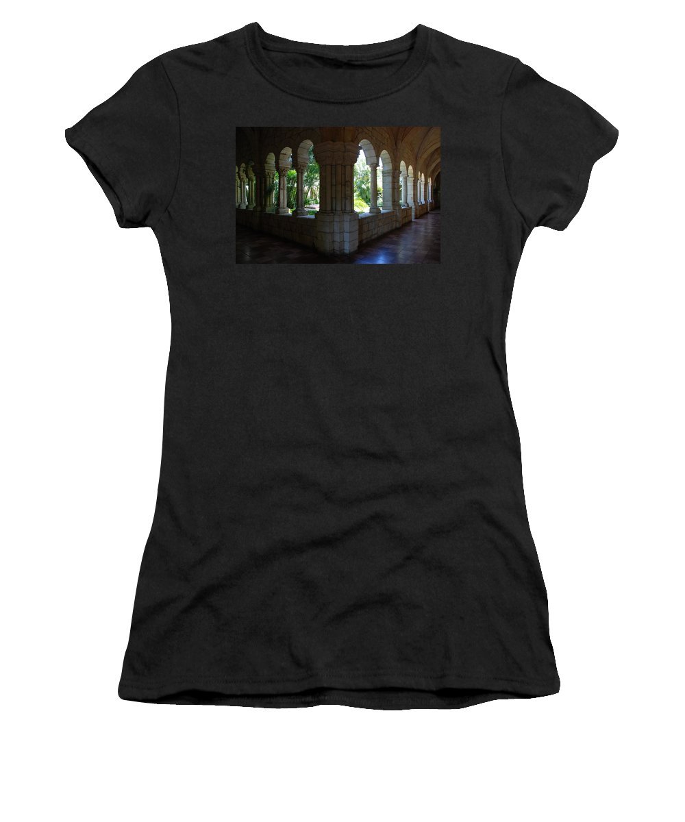 Architecture Women's T-Shirt (Athletic Fit) featuring the photograph Miami Monastery by Rob Hans