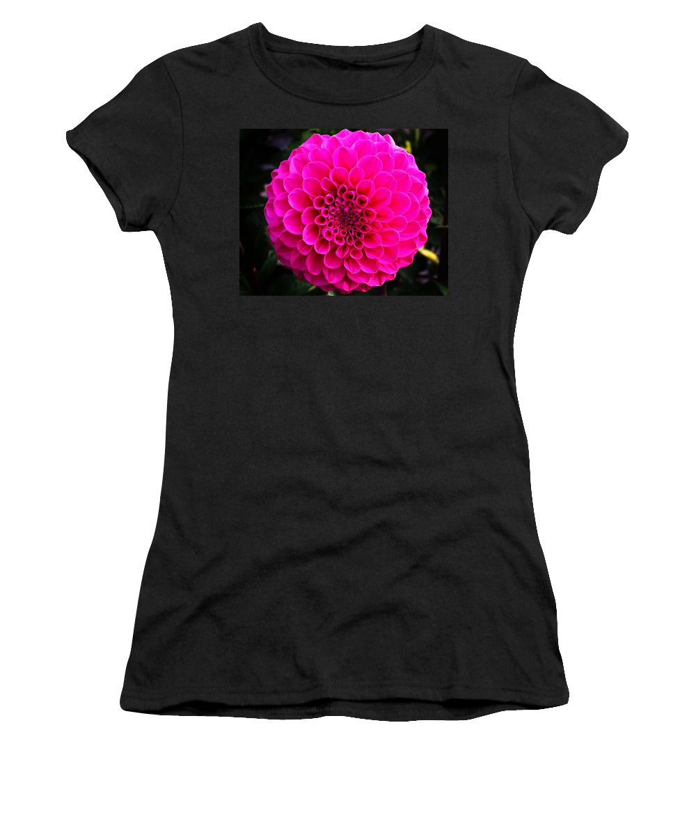 Flower Women's T-Shirt featuring the photograph Pink Flower by Anthony Jones