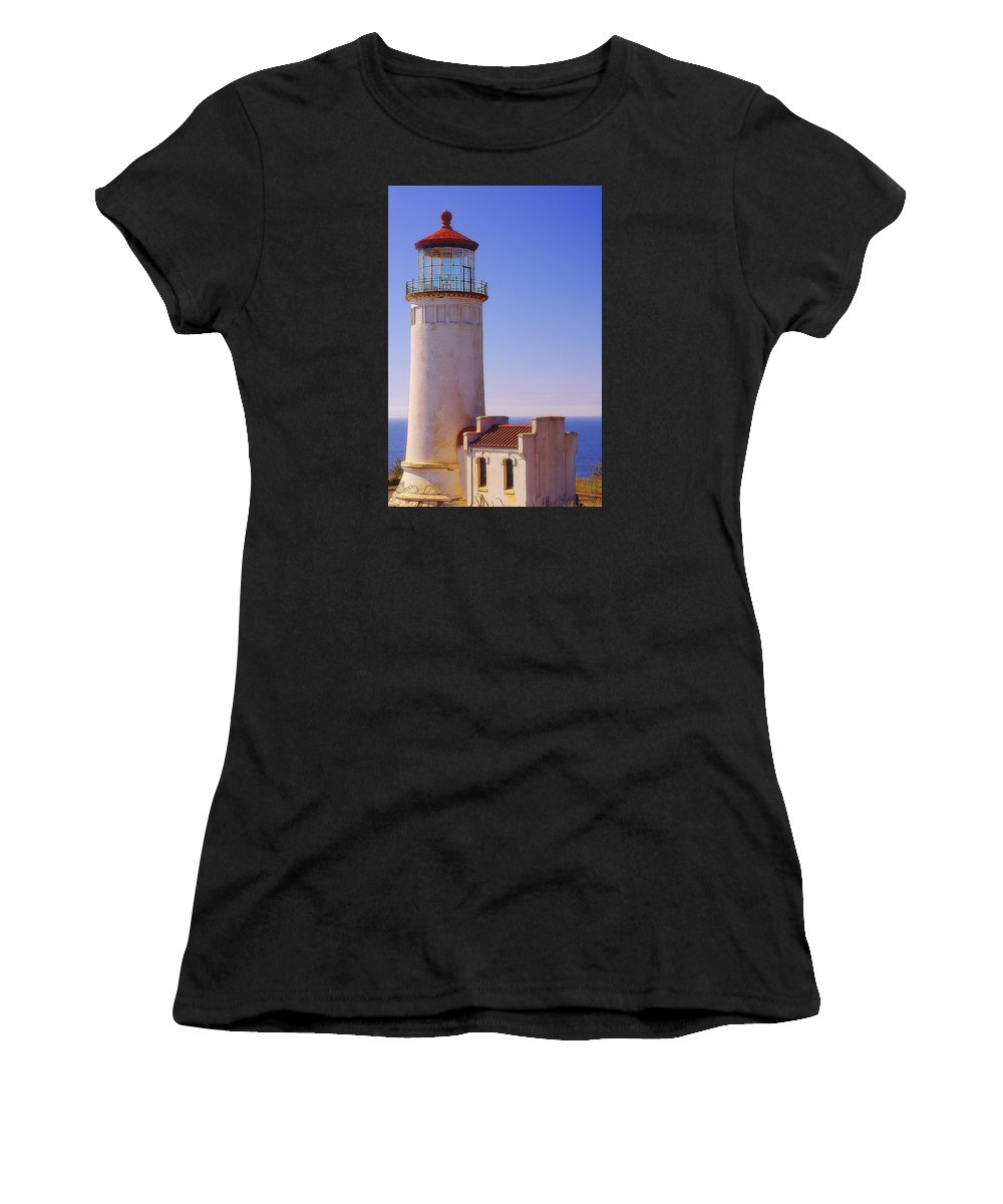 Coast Women's T-Shirt (Athletic Fit) featuring the photograph Sheltered From The Storm by Steve Warnstaff