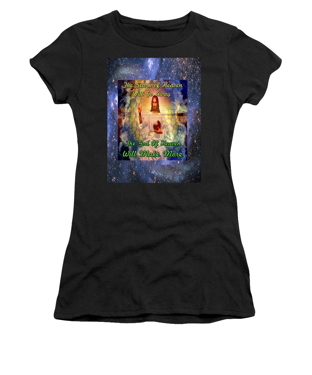 Easter Women's T-Shirt (Athletic Fit) featuring the digital art Son Of The Sun by Mitchell Watrous