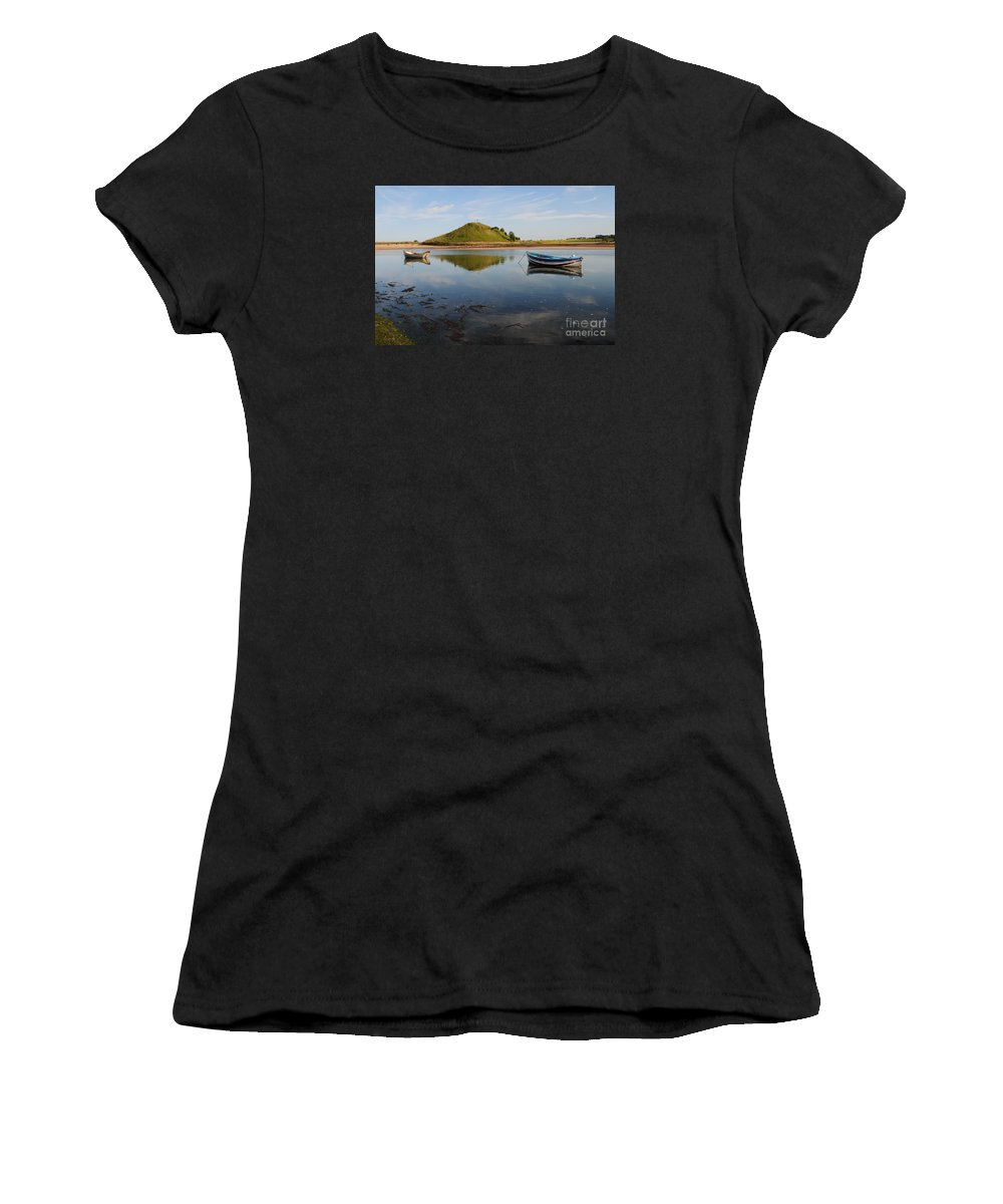 River Aln Women's T-Shirt (Athletic Fit) featuring the photograph The River Aln by Smart Aviation