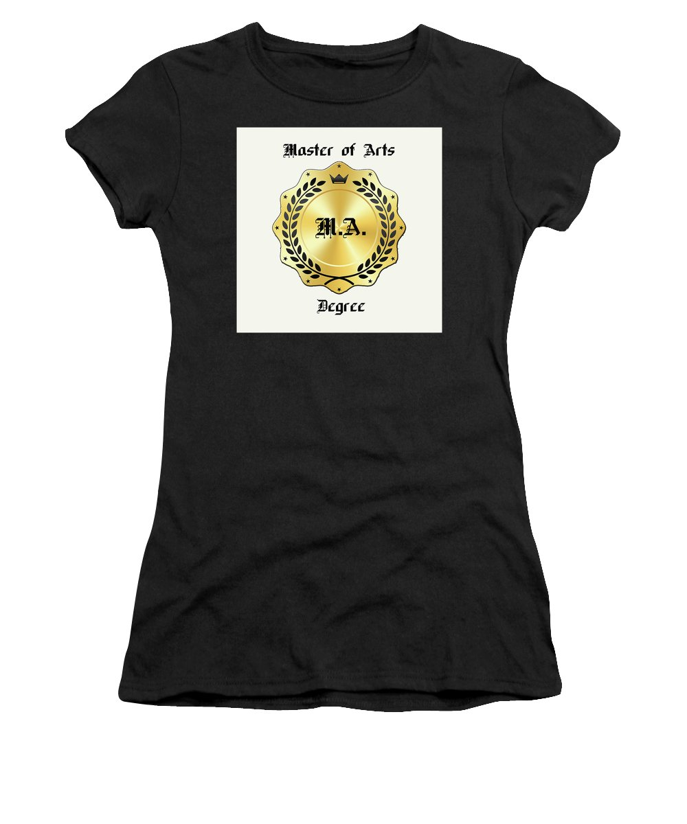 Greeting Cards Women's T-Shirt (Athletic Fit) featuring the digital art Bigstock 168455051 by Mitchell Watrous