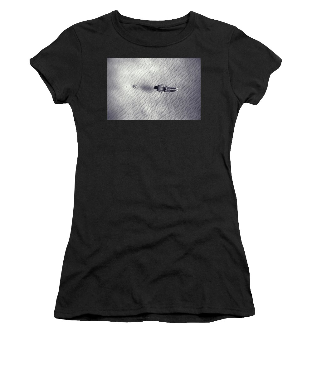 Swim Women's T-Shirt (Athletic Fit) featuring the photograph 140610-1649 by Enric Gener