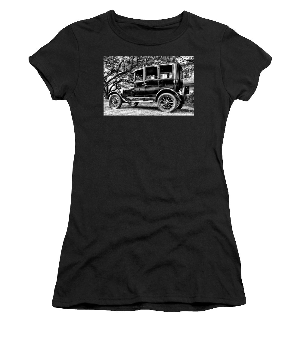 Ford Model T Women's T-Shirt (Athletic Fit) featuring the photograph 1926 Ford Model T by Bill Cannon