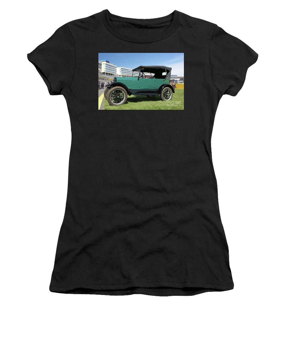 Classic Cars Women's T-Shirt featuring the photograph 1927 Ford Model A by Kevin McCarthy