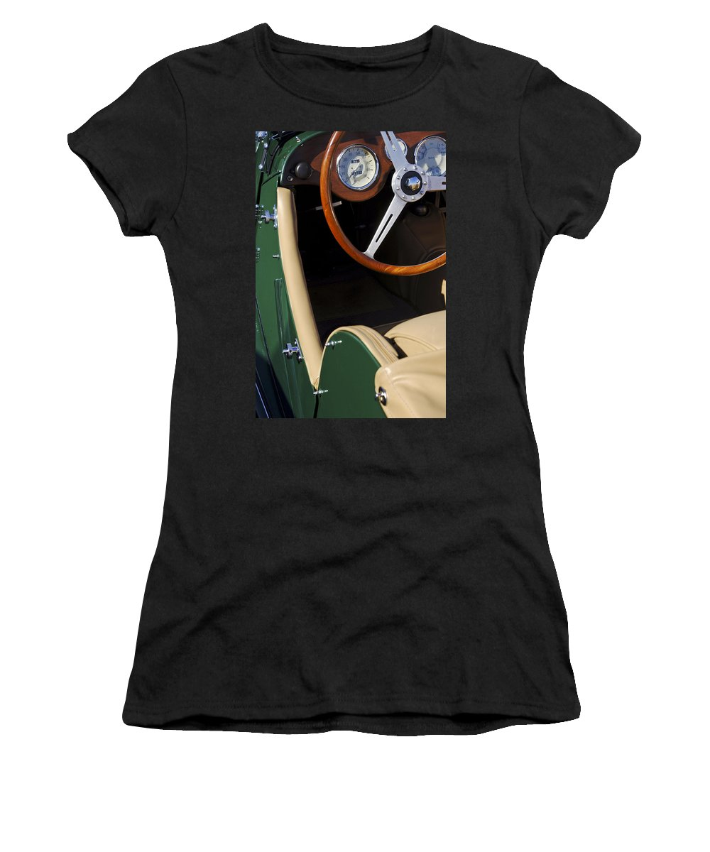 Transportation Women's T-Shirt (Athletic Fit) featuring the photograph 1964 Morgan 44 by Jill Reger